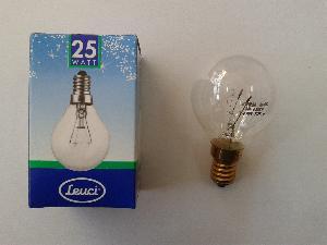 КРУШКА ФУРНА Е14S 25W - 25W 230V до 300 градуса по целзии.