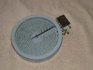 Плоча Ø140мм 1200W керамичен плот